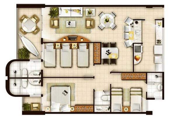 Sala De Tv Planta Baixa ~ sala de estarjantar; lavabo; cozinha; área de serviços; 02 vagas de