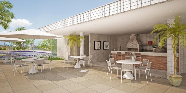 deck jardim copacabana:deck churrasqueira